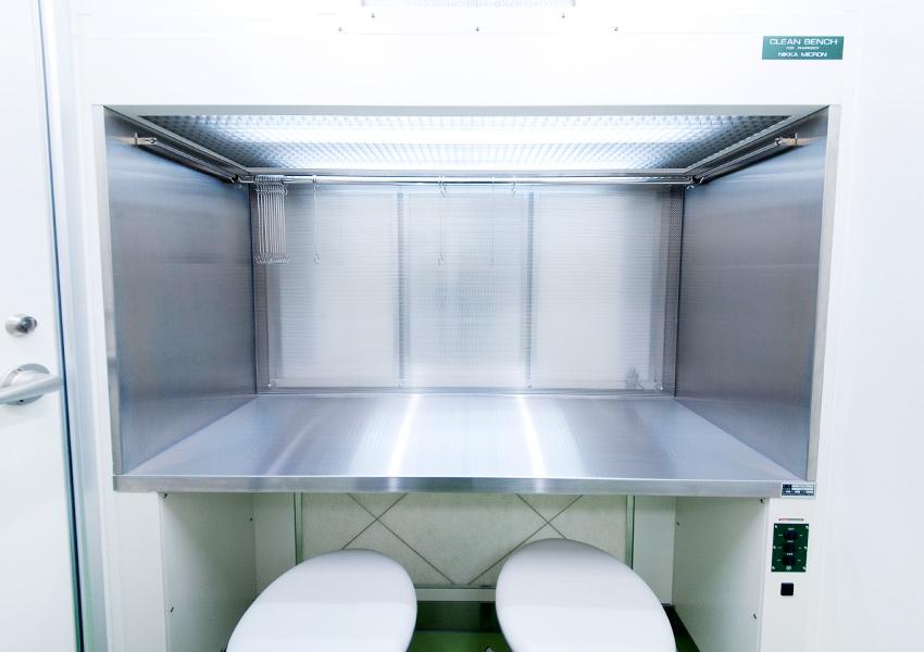 無菌調剤室のイメージ写真