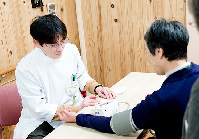 血圧測定の写真