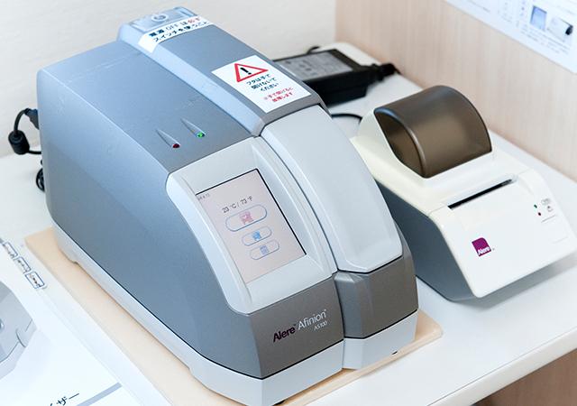 検体測定器の写真