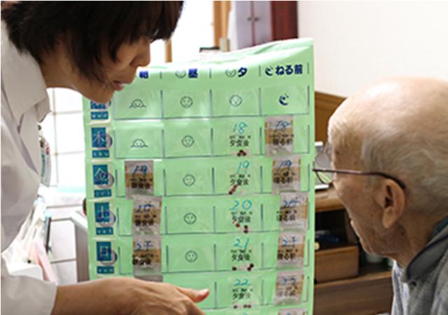 残薬の整理・適正な服薬管理のイメージ写真
